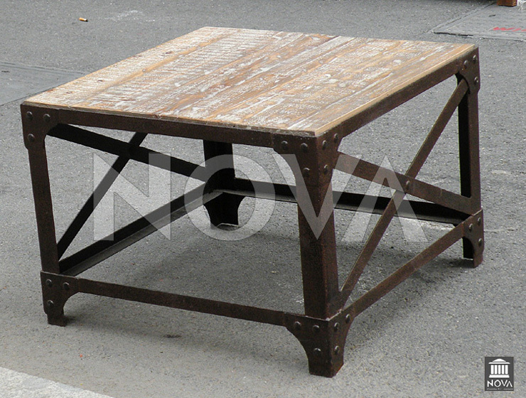 American Country To Do The Old Vintage Wrought Iron Wood Coffee Table Tea Table Coffee Table
