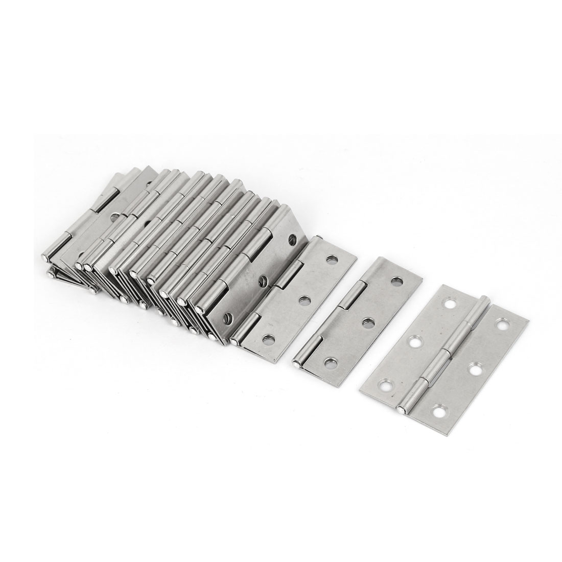 UXCELL Cupboard Cabinet Stainless Steel Door Hinges 55Mm Long 10Pcs(China (Mainland))
