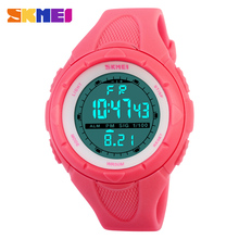 Skmei Brand Fashion Casual Women's Watch Waterproof LED Digital Sports Watches For Boys Girl Outdoor Sport Wristwatches(China (Mainland))