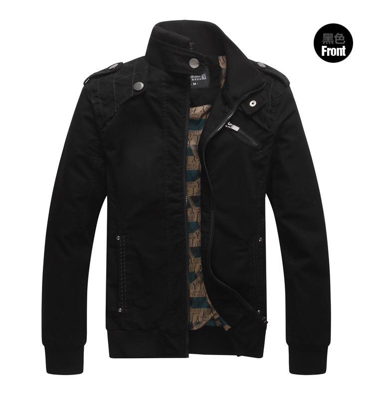 2016 бренда Мужская зимняя куртка хлопок 100% осенью & весной Пиджаки мужские случайный куртка хаки xxl, a041