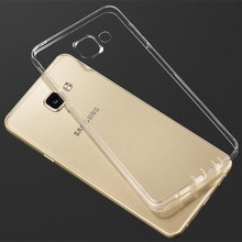 Ultra Thin Transparent Clear TPU Case Samsung Galaxy A3 A5 A7 J1 J3 J5 J7 2016 Crystal Back Protect Silicone Phone Bag - Twinkle_Star store