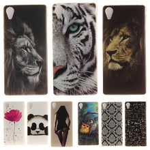 Buy Cartoon Phone Case Coque Sony Xperia X Performance F8131 F8132 Soft Silicon Cover Sony XP Panda Tiger Lion TPU Back Case for $1.37 in AliExpress store
