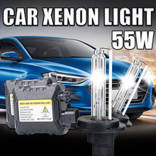 Buy One set H7 xenon HID kit 55W car headlight H1 H3 H4 H8 H9 H11 9005 HB3 9006 HB4 881 H27 lamp 4300K 6000K 8000K H7 Xenon bulb for $25.56 in AliExpress store