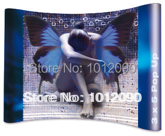 Pop up frame/Exhibition Pop up display stand/Exhibition stand/Advertising display(China (Mainland))