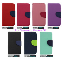 2015 fashion Newest Luxury PU Leather Cover Samsung Galaxy O7 BY FREE DHL (xkm) - NO.2 Case store