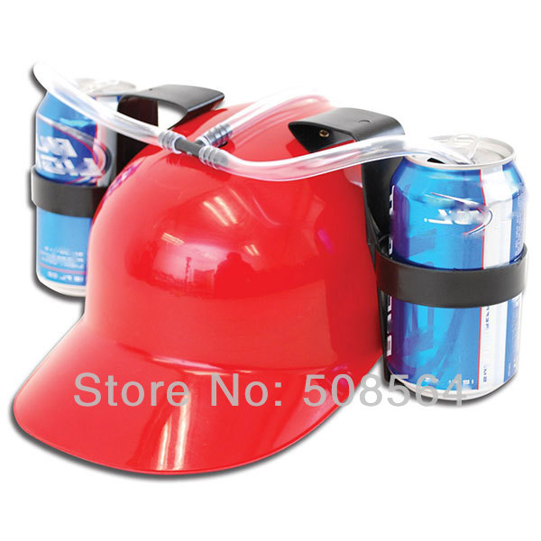 Novelty Design Drinking Beer Helmet Drinking Hat Party toys Football Plastic Beer Cap(China (Mainland))