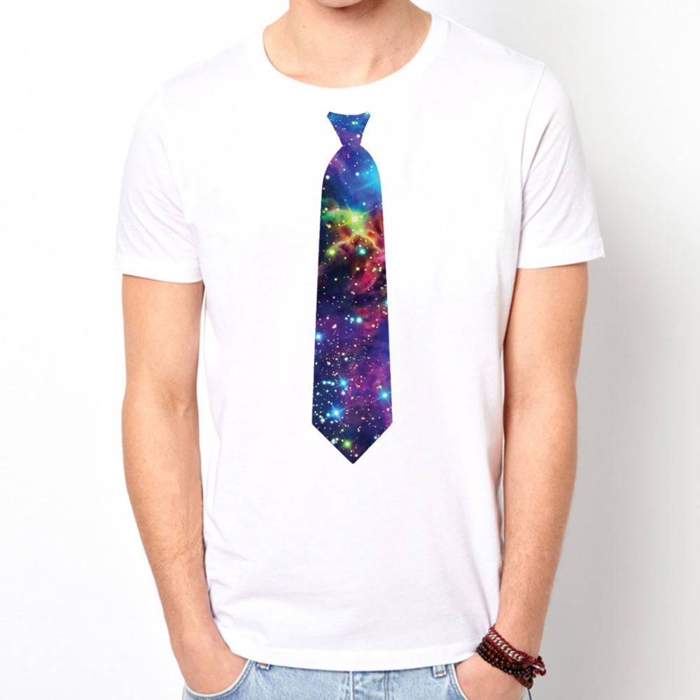 Buy printed tie flower floral funny for Cosmic pattern clothing