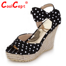 Free shipping NEW wedge sandals platform fashion women dress sexy slippers shoes casual footwear P4049 EUR size 34-39