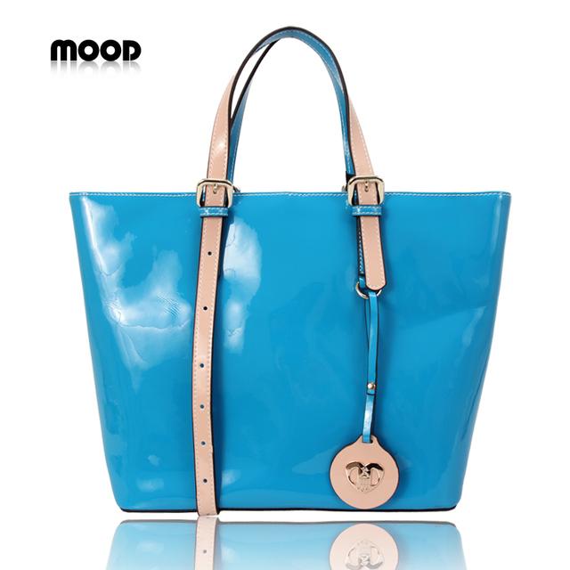 2013 mood women's handbag fashion bag fashion genuine leather cowhide large bags qimian handbag