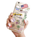 Fashion Queen Pineapple coconut palm cactus dog Case Cover Capa for iPhone SE 5 5S 6s