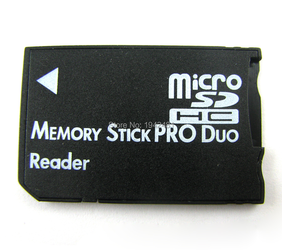 20pcs/lot Micro SD HC to Memory Stick MS Pro Duo Card Dual 2 Slot Adapter for Sony PSP 1000 2000 3000(China (Mainland))