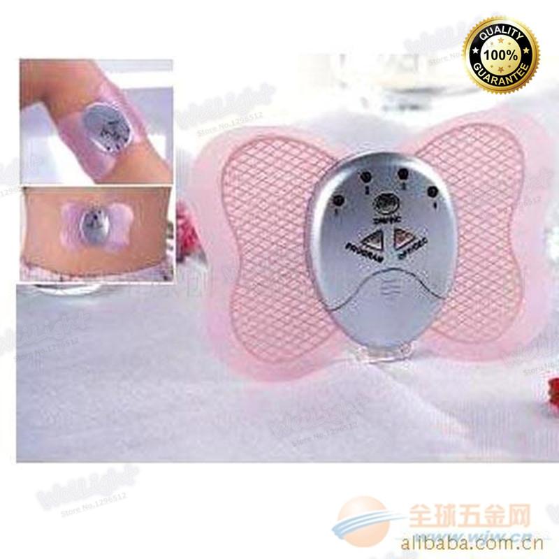 2016 New design 1Pcs Body Muscle Massager Electronic Slimming Massager tens machine (Massager + Batteries + Retail box)(China (Mainland))