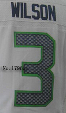 Embroidery Name Number 24 Marshawn Lynch 25 Richard Sherman 88 Jimmy Graham Color:Green Blue White Size:M~XXXL(China (Mainland))