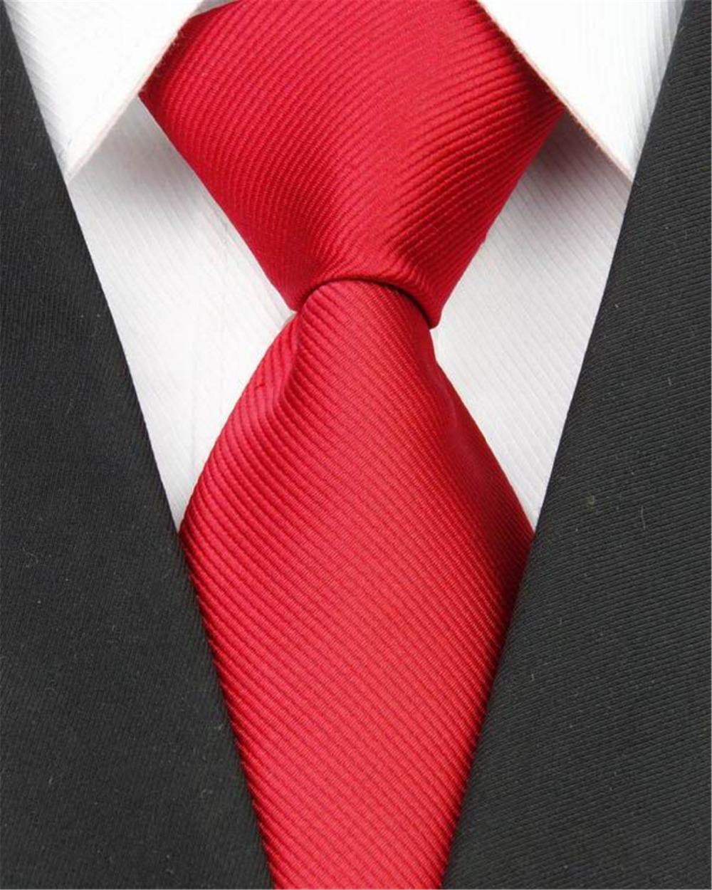 New 2015 Men's Fashion Accessories Stripe Pattern Jacquard Woven Business Silk Tie Necktie for Men Black Navy Blue Green Red()