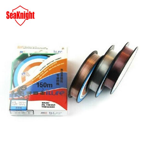 150M Ilure Brand Top Grade 100% Japanese Fluorocarbon fishing line Monofilament Carp Wire leader line(China (Mainland))