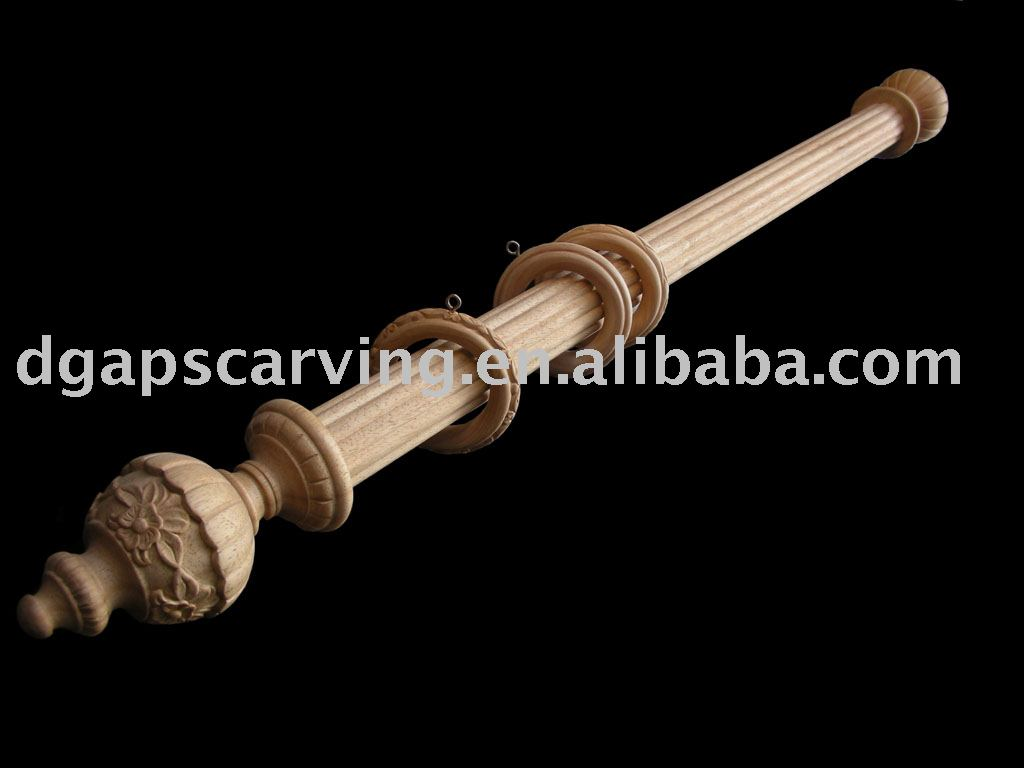 wood curtain rods in curtain poles tracks accessories from home