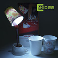 CNHIDEE USB Novelty DIY Energy Saving Coffee Cup Light LED Table Lamp as Art Decor Besides