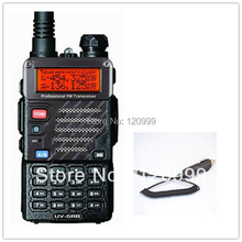BAOFENG UV-5RB VHF/UHF Dual Band Radio Handheld Tranceiver with free earpiece+Car Charger Line