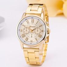 2016 Free shipping Hot selling brand luxury gold full steel men women watch,relogio masculino diamond jewelry quartz watch MKORR