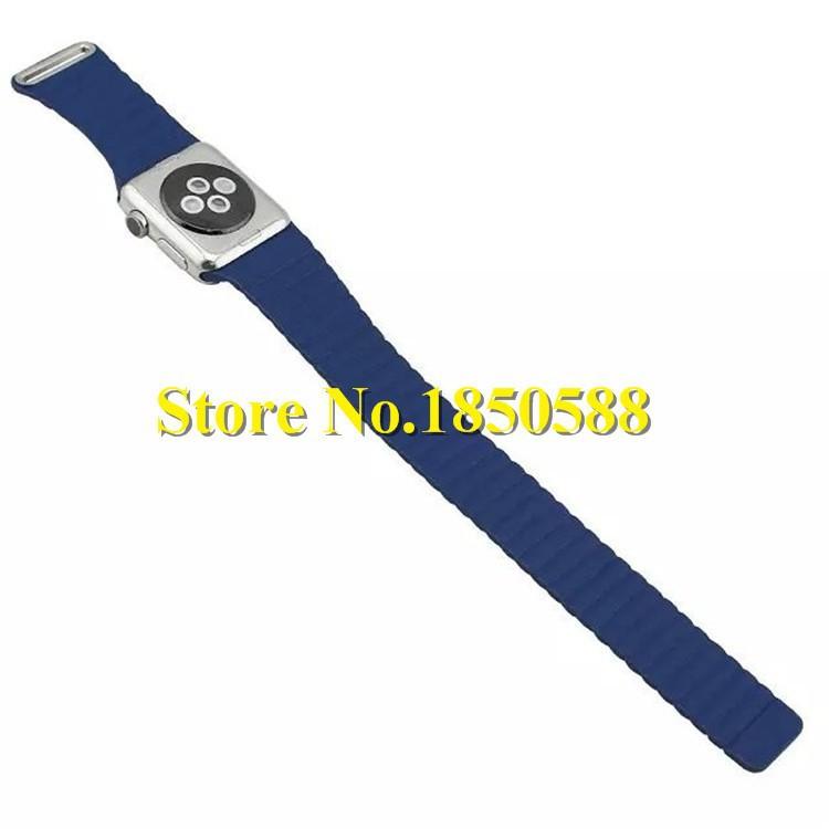Для apple watch кожа петля Ремешок Для Apple Watch Миланской Петля Ремешок Для Часов С магнитным замком Для apple watch оригинал
