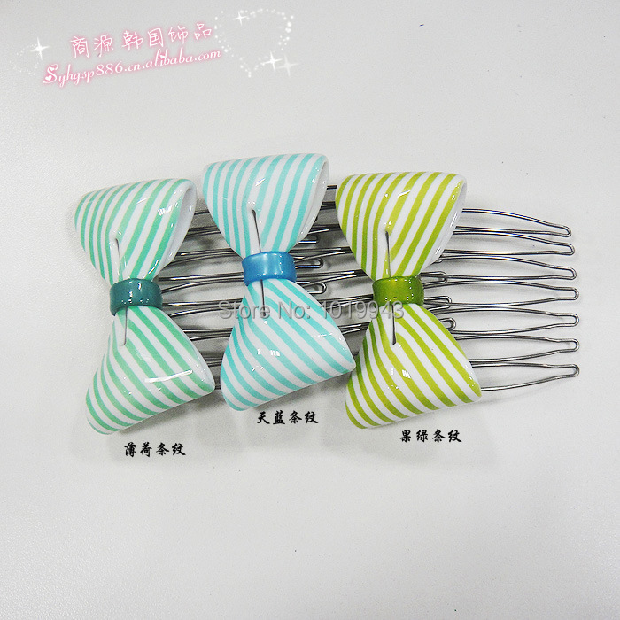 AZ Korean New fashion pectin inserted comb hair accessories,Wholesale Girl's hair jewelry Free shipping women's hair combs CS01(China (Mainland))