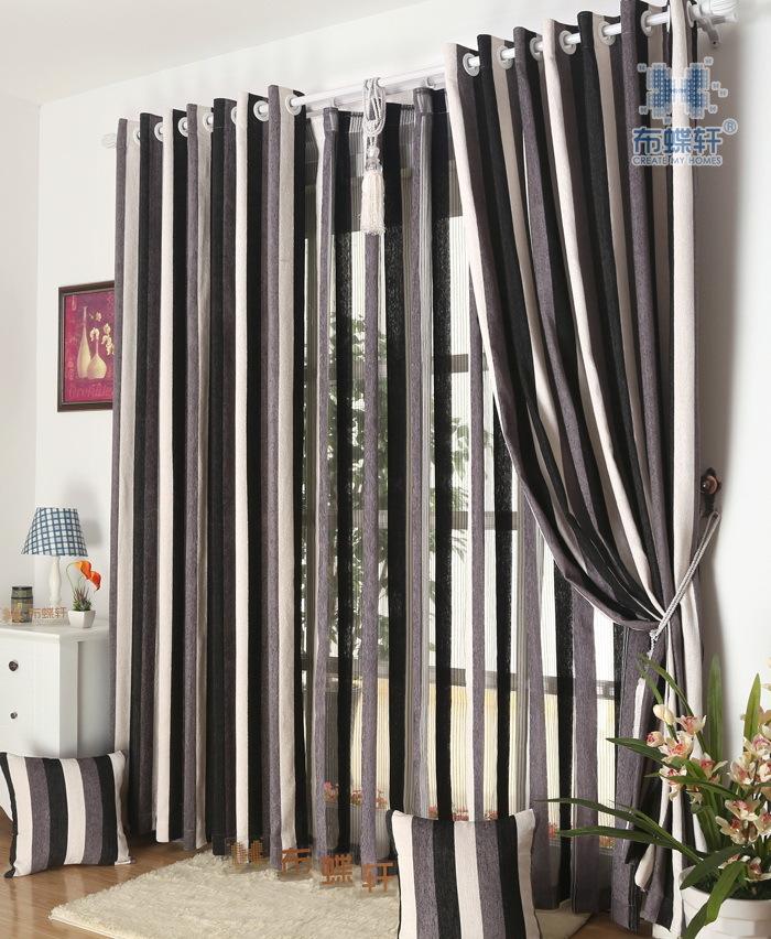 Online Kaufen Großhandel Gestreiften Schlafzimmer Vorhänge