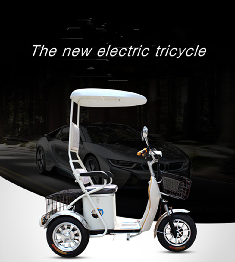 Electric Mobility Tricycle Scooter