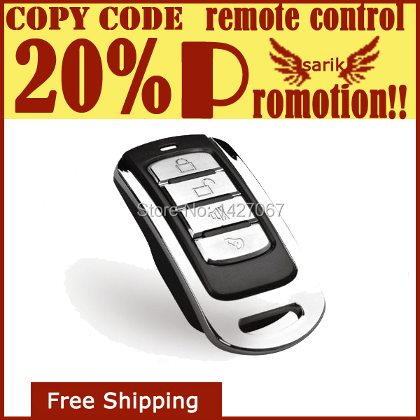 remote control for home appliances , 433mhz universal garage door opener remote control , copy code remote control(China (Mainland))