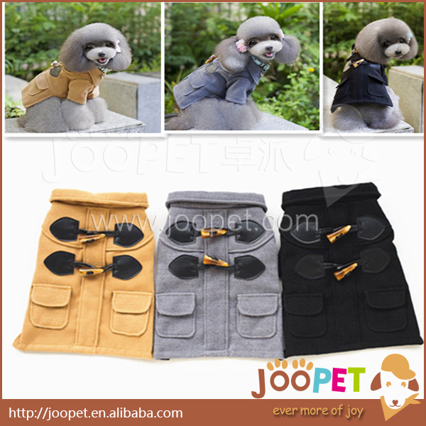 2015 Newest dog clothes winter England style pet clothing for dogs pet for animal business suit for puppy dog clothes(China (Mainland))