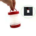 Mini Foldable LED Camping Lights Outdoor Lamp 5 LED Night Light Fishing Hiking Lamp Lantern Waterproof