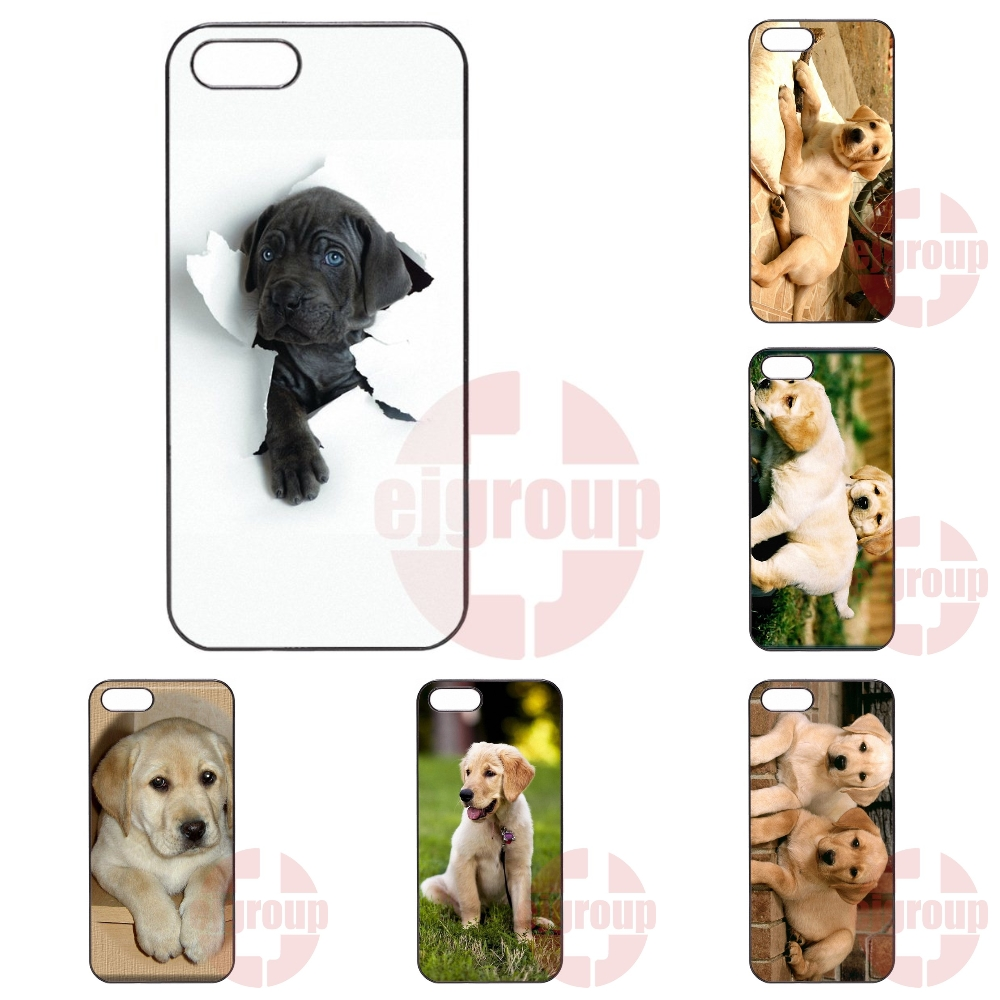 Fashion Case Cover For Samsung Galaxy J1 J2 J3 J5 J7 2016 Core 2 S Win Xcover Trend Duos Grand labrador dogs puppies(China (Mainland))