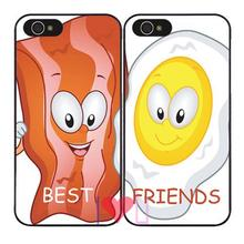 Forever Friends BFF Pairs Protective back skins cellphone case cover fits iphone 4/4s 5/5s SE 6/6s plus ipod touch4/5/6 - I LOVE U store