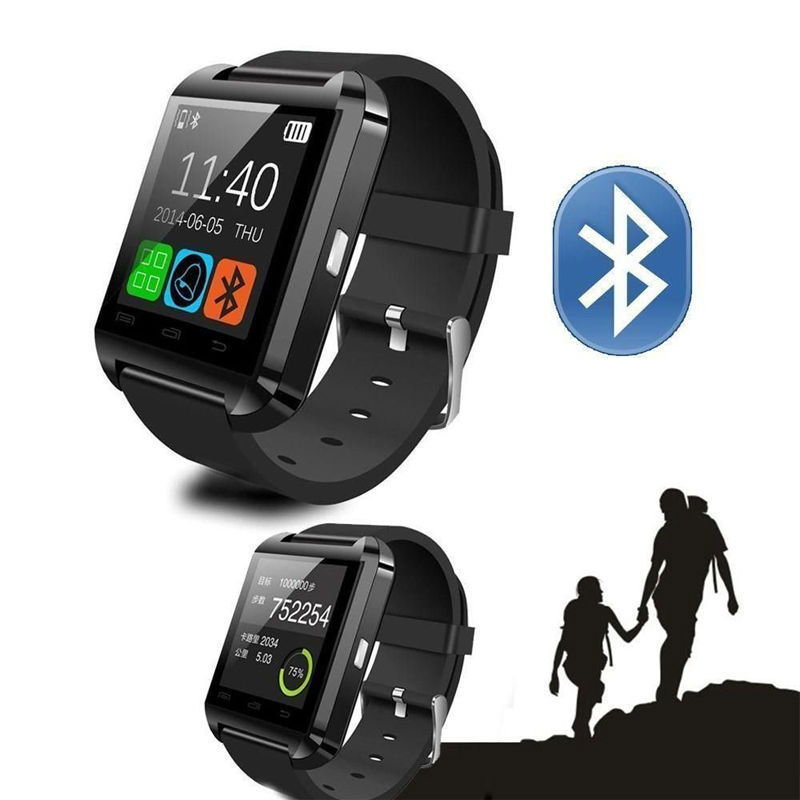 Factory Direct Sale U8 Bluetooth Smart Digital Wrist Healty Watch Phone Mate For Android IOS Iphone