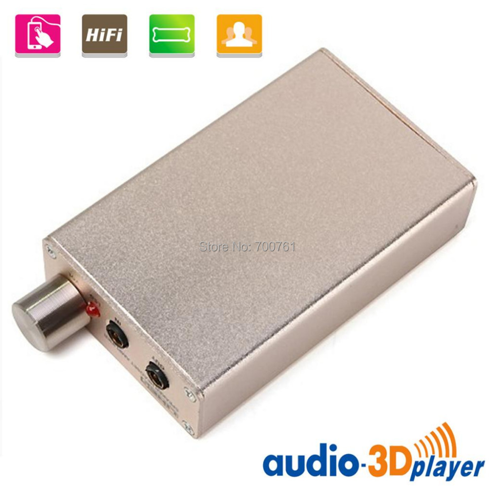 buy line5 a970 portable headphone stereo audio amplifier champagne gold at dealextreme. Black Bedroom Furniture Sets. Home Design Ideas