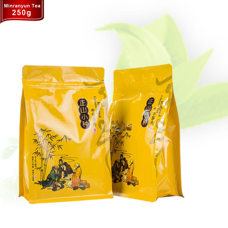 Smoking green tea bags