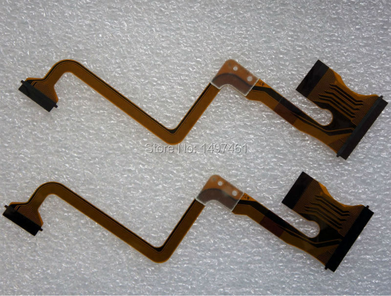 2 PCS LCD screen flex cable for JVC GZ MS120 MS123 MS130 HM200 GZ MS95SE HD320