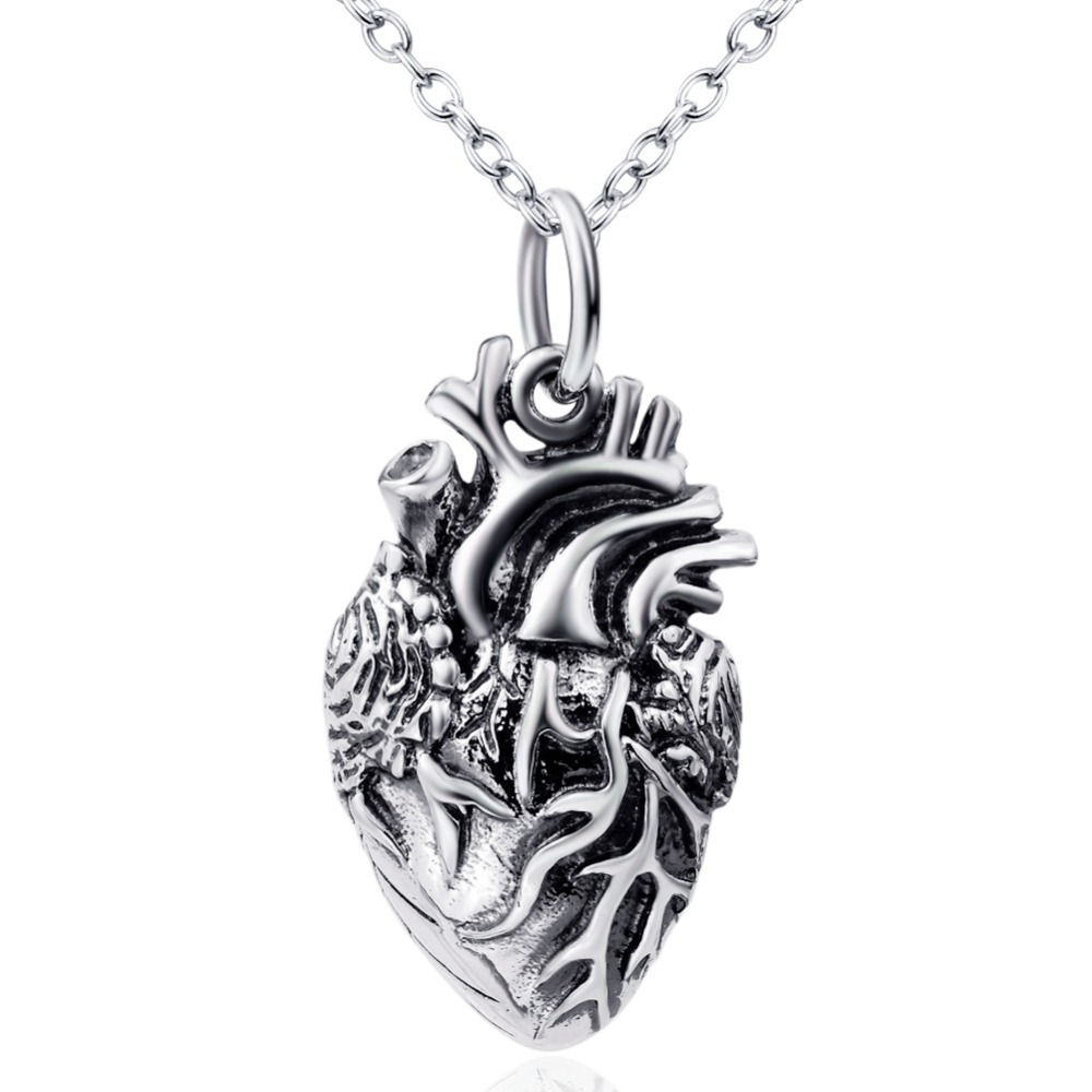 925 Sterling Silver Rhodium Plated Mom and Child Forever Love Family Message Engraved Pendant Heart Charm Necklace,18''(China (Mainland))