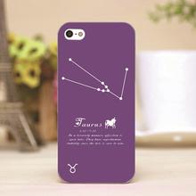 pz0001-2 Taurus Design Customized cellphone transparent case cover for iphone cases for iphone 4 5 5c 5s 6 6plus