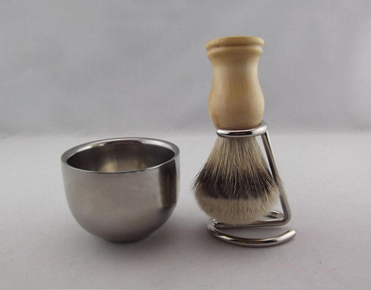 Shaving Stand Bowl Silvertip Badger Brush Knots 19mm