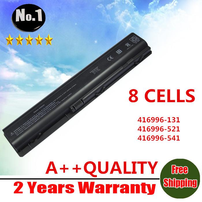 Wholesale New laptop battery For HP Pavilion DV9000 DV9100 DV9200 DV9300 DV9400 DV9500 DV9600 DV9700 DV9800 DV9900 free shipping(China (Mainland))