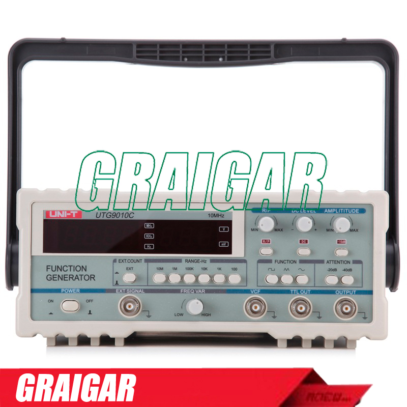 Digital Function Generators UTG9010C 10MHZ 20Vpp signal generator AC 220V,50Hz<br><br>Aliexpress