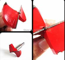 Envío gratis 55 * 83 * 10 mm TCT madera bisagra parte mandrinadoras agujero consideró cortador broca del taladro del sistema de carburo de brocas para madera plástico drilling