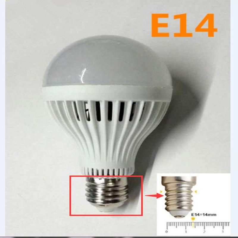 1pcs Sensor Lamp 5w Led E14 Bulb 7W Auto Smart Led Infrared Body Lamp With The Sound light Control Lights(China (Mainland))