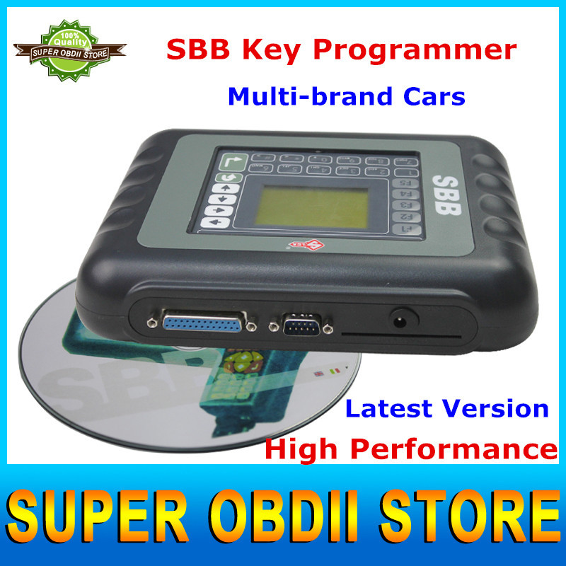 New SBB Auto Key Programmer SBB Key Silcal V33.02 Programmer With New Remote Controls Supports 9 Languages Universal Key Maker(China (Mainland))