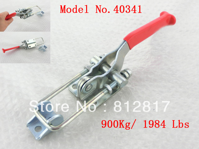 900Kg 1984 Lbs 40341 Adjustable U Shape Latch Type Pull Action Toggle Clamp