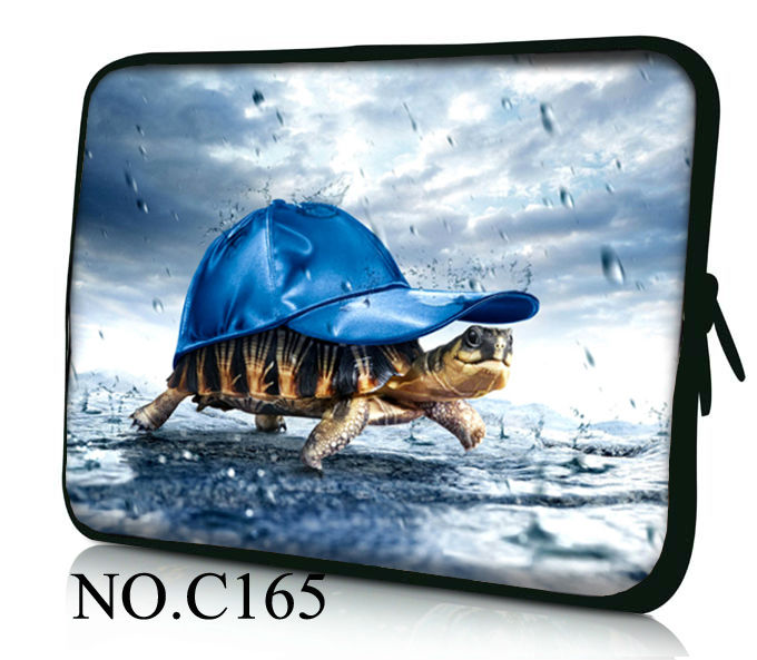 """Lovely sea turtle Notebook Sleeve Bag Case Cover Pouch for 14/14.1/14.5"""" inch Laptop PC Sony VAIO/CW/CS HP Dell M14 14R(China (Mainland))"""