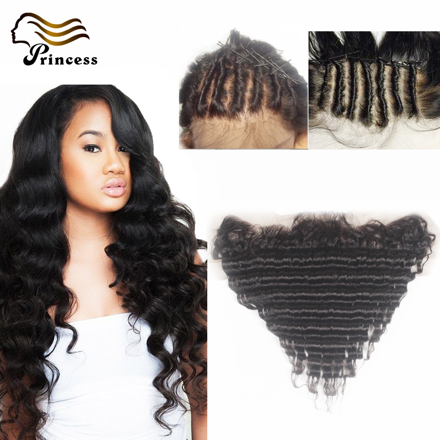 Peruvian Deep Wave Frontal Closure Free Middle 3 Part Ear To Ear Lace Frontal With Baby Hair 13x4 Lace Frontals Bleached Knots<br><br>Aliexpress