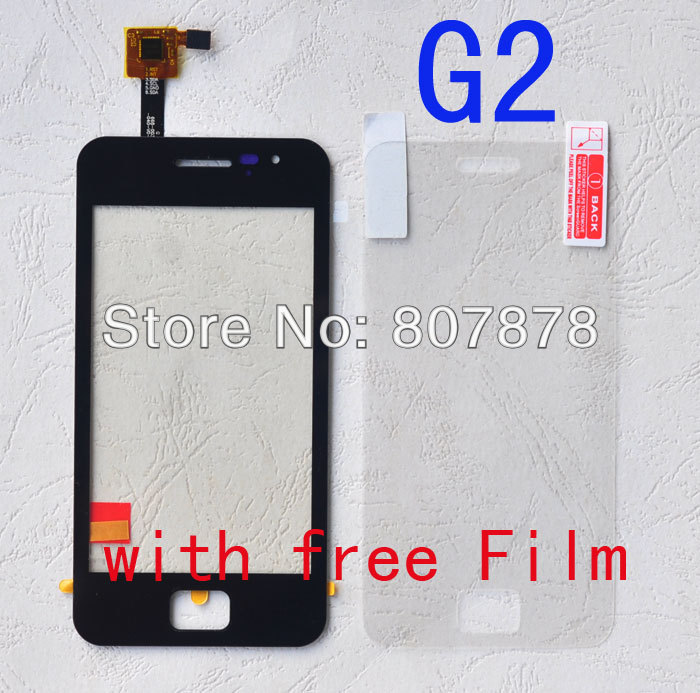 Black Orignal Touch Screen Digitizer Replacement for JIAYU G2 Touch Pane + free shipping(China (Mainland))