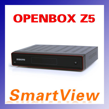 1pc Original openbox Z5 Satellite Receiver HD 1080p dvb-s2 support usb wifi  youtube iptv weather google 3G GPRS free shipping