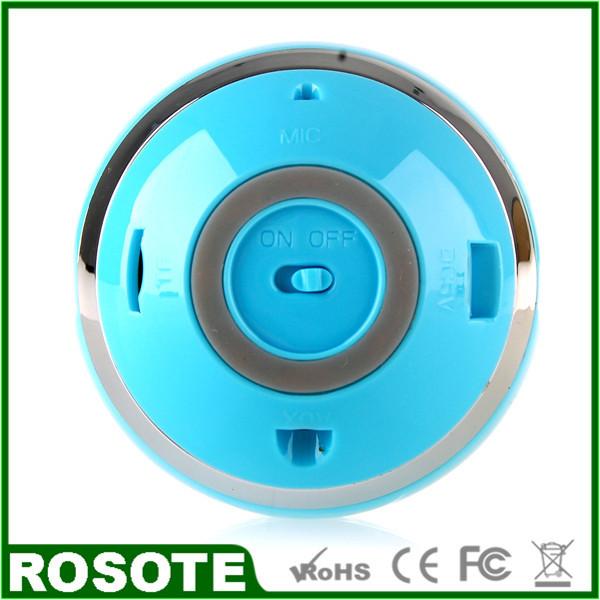 Free Shipping 2014 Cute Ball LED Bluetooth Speaker NEW Waterproof Pillow Speaker Mini Bluetooth